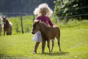 Το μικρότερο άλογο στον κόσμο!