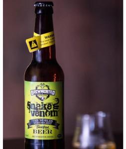 Venom Snake: Η πιο δυνατή μπύρα στον κόσμο!