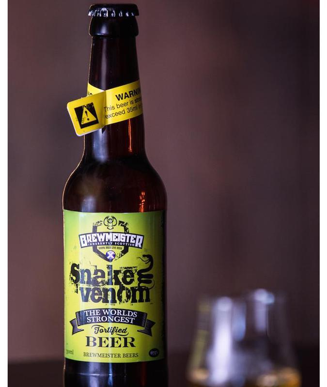 perierga.gr - Venom Snake: Η πιο δυνατή μπύρα στον κόσμο!