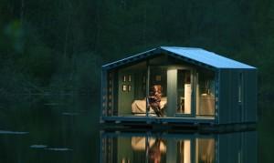 Κατοικία 16 τ.μ. επιπλέει στο νερό...