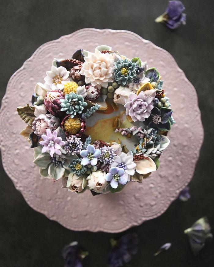 "perierga.gr - Εντυπωσιακές ""ανθισμένες"" τούρτες"