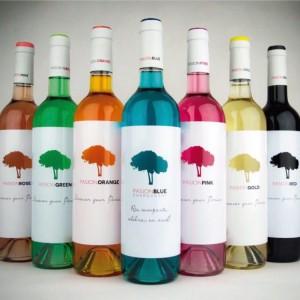 Κρασί σε όλα τα χρώματα του ουράνιου τόξου...