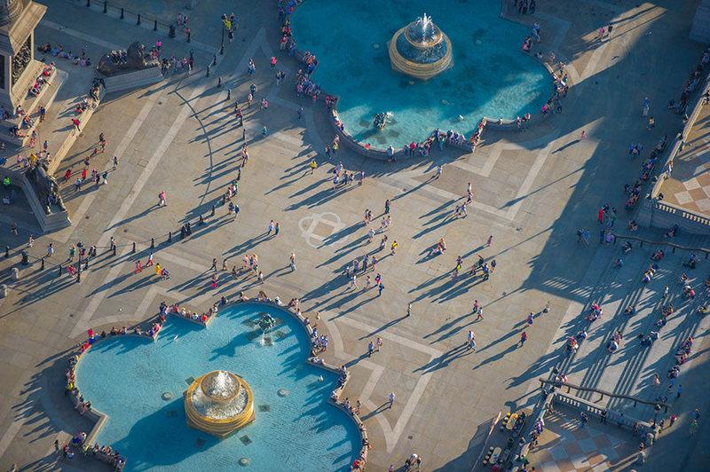 perierga.gr - Αεροφωτογραφίες και άνθρωποι... μικροσκοπικοί!