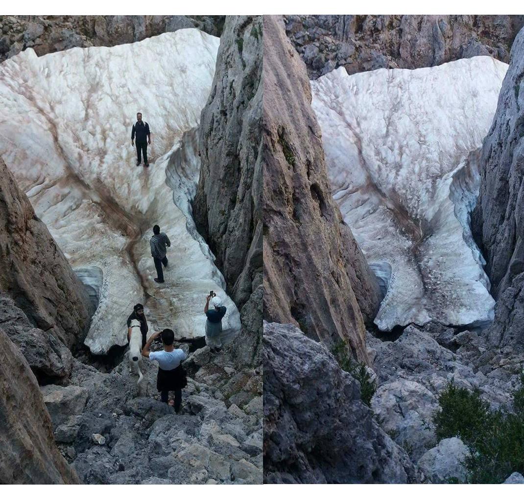 perierga.gr - Tο μέρος στην Κρήτη που έχει πάντα χιόνι