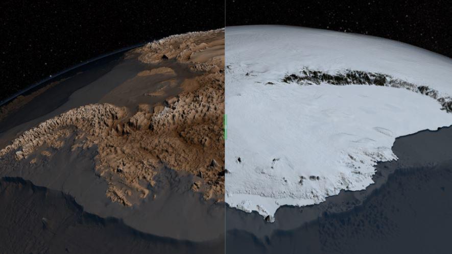 perierga.gr - Ανακαλύφθηκαν στην Ανταρκτική τα αρχαιότερα δείγματα πάγου