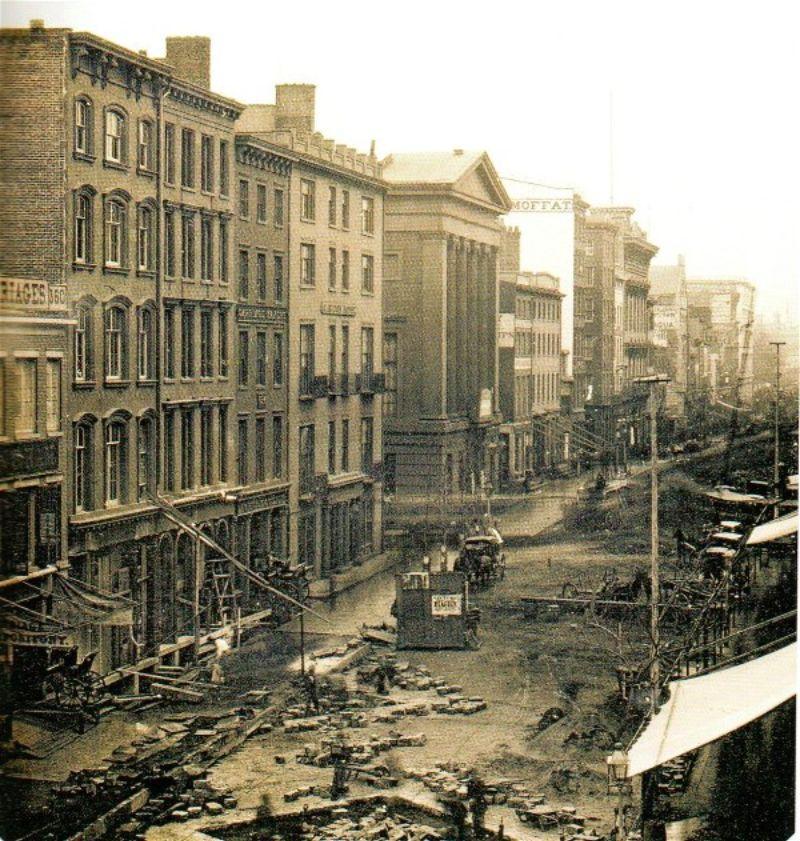 perierga.gr - Eμβληματικές πόλεις όπως ήταν στα μέσα του 19ου αιώνα