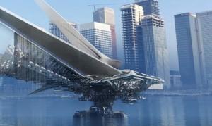 """Πλωτή πεζογέφυρα """"ταξιδεύει"""" σαν βάρκα!"""