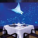 Εντυπωσιακό εστιατόριο μέσα σε... ενυδρείο!