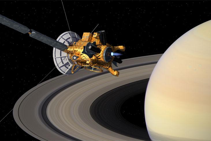 Perierga.gr - Δείτε τις φωτογραφίες που τράβηξε το Cassini... πεθαίνοντας