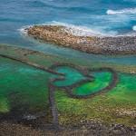 Αρχαίες παγίδες ψαριών σε σχήμα... καρδιάς!