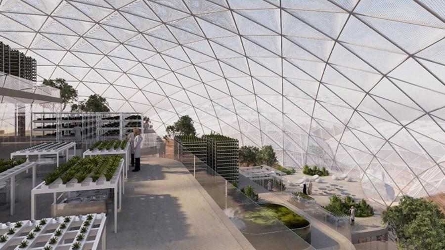 perierga.gr - Η μεγαλύτερη πόλη σε διαστημική προσομοίωση ετοιμάζεται στο Ντουμπάι!
