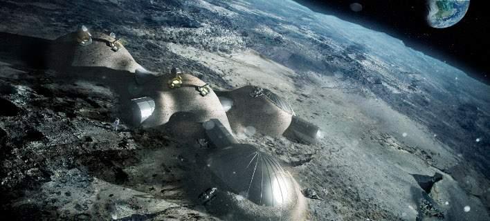 perierga.gr - Στη Σελήνη θα μπορούν να μένουν 1.000 άνθρωποι ως το 2050!