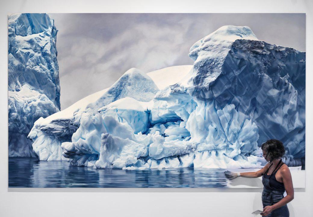 perierga.gr - Υπερρεαλιστική ζωγραφική με παγόβουνα που βρίσκονται σε κίνδυνο!