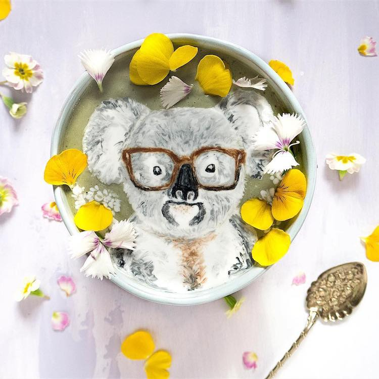 """perierga.gr - Γευστικά ροφήματα """"ζωγραφίζονται"""" με υλικά από τη φύση!"""