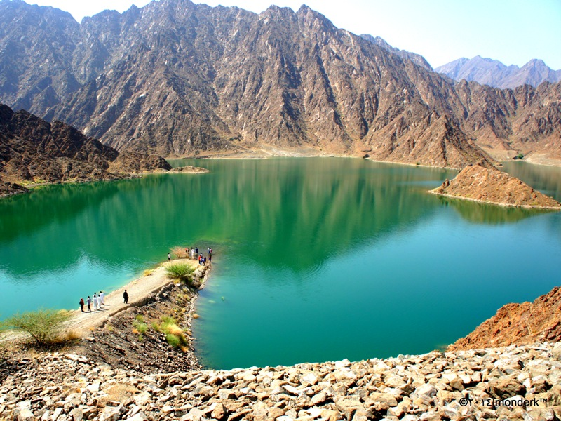 perierga.gr - Hatta Mountains: Ένα διαφορετικό τοπίο στο Ντουμπάι