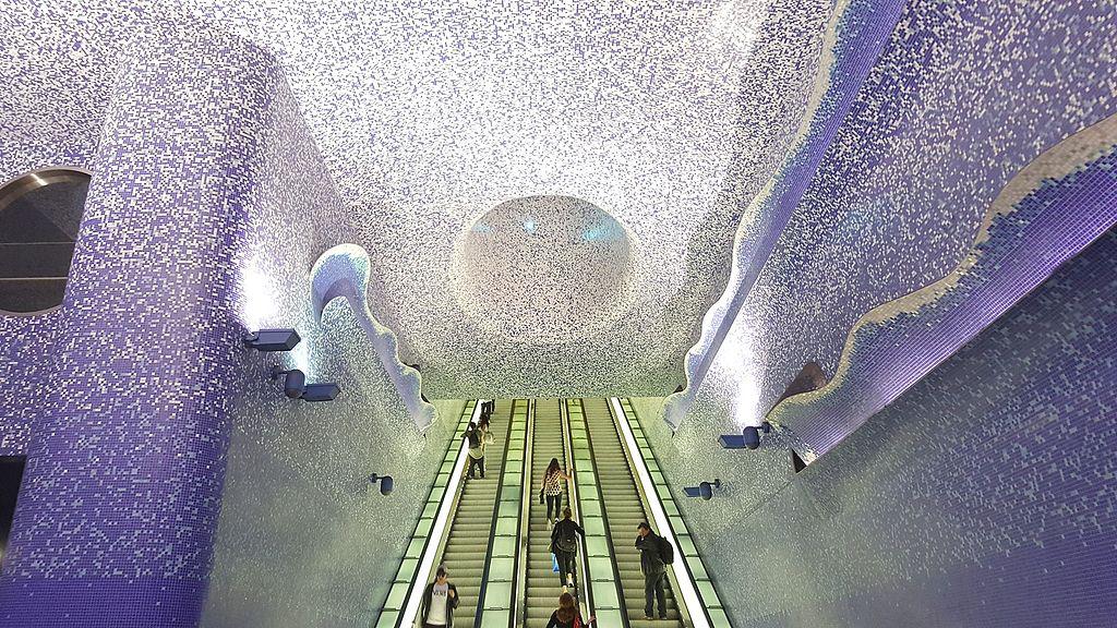 perierga.gr - 7 υπέροχοι σταθμοί Μετρό στον κόσμο