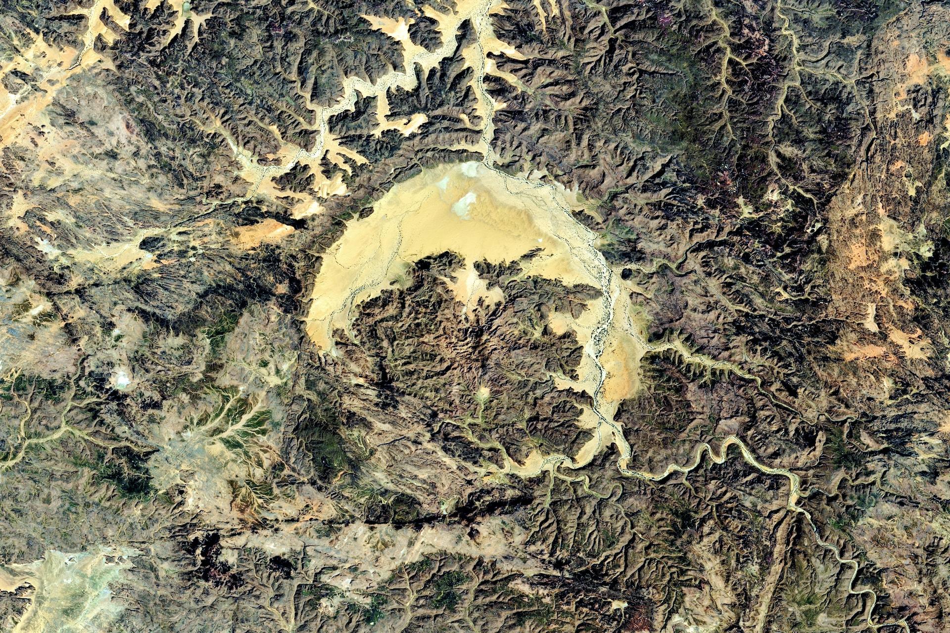 Εντυπωσιακές εικόνες της Αφρικής από το Διάστημα!