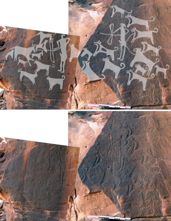 perierga.gr - Οι αρχαιότερες απεικονίσεις σκύλων 8.000 έτη πριν