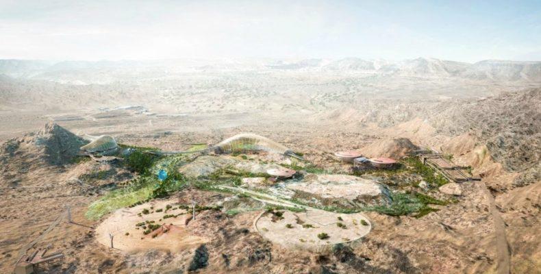 Ένας τεράστιος βοτανικός κήπος στην έρημο του Ομάν!