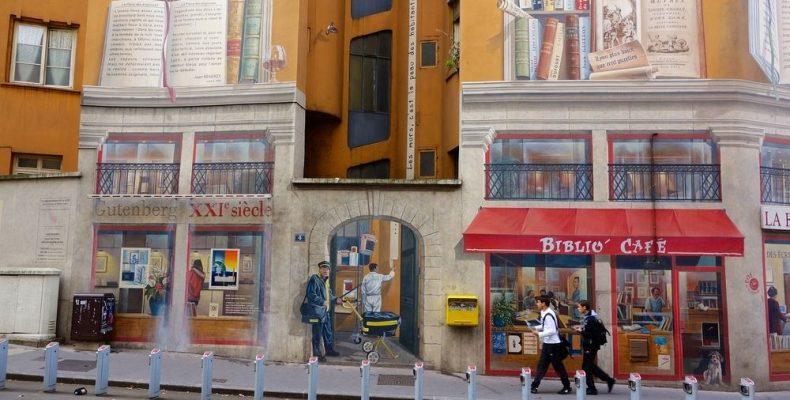 Η Λυών είναι ένα μεγάλο υπαίθριο μουσείο γκράφιτι!