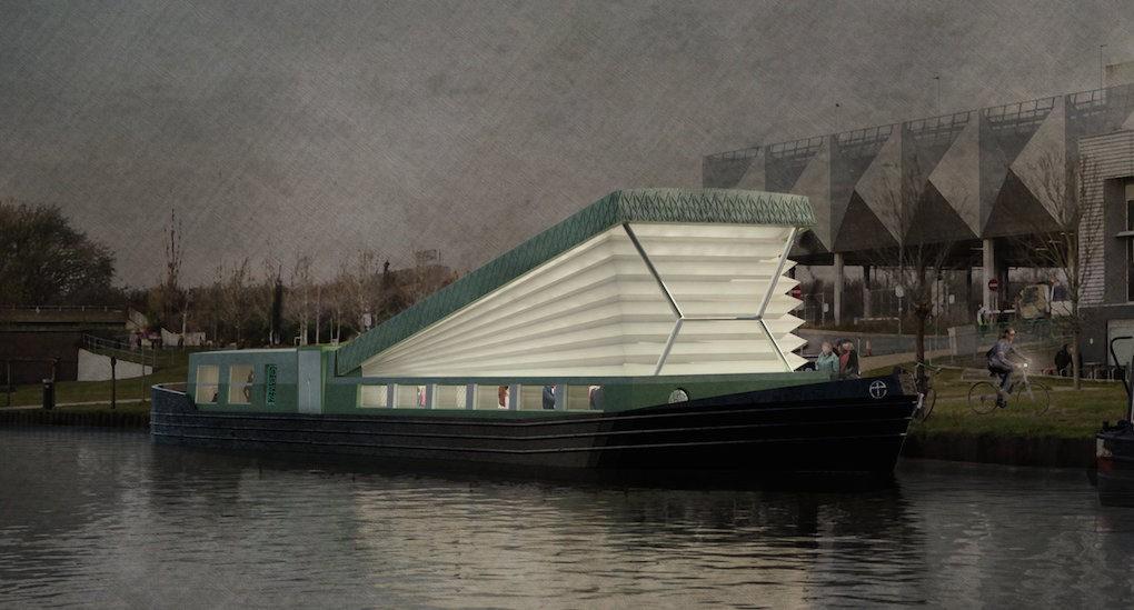 perierga.gr - Πλωτή εκκλησία στα κανάλια του Λονδίνου