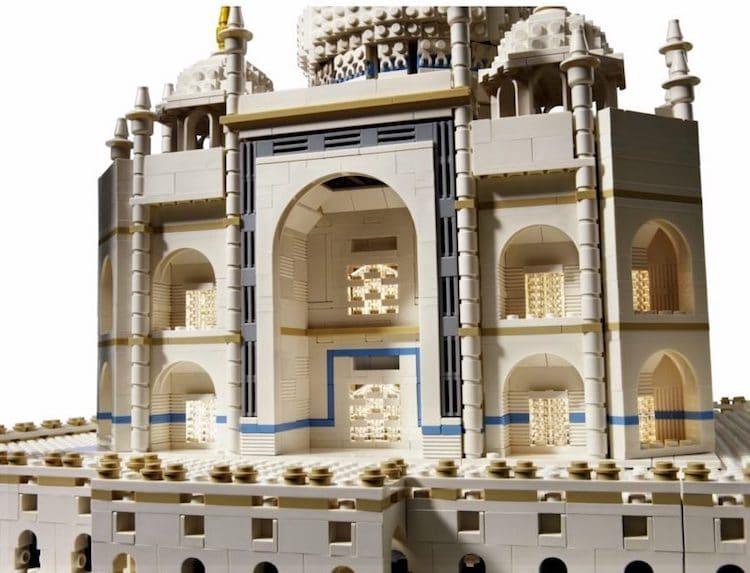 perierga.gr - Το Taj Mahal με 5.923 τουβλάκια LEGO!