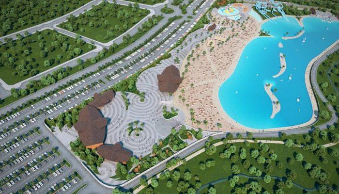 perierga.gr - Η πρώτη τεχνητή παραλία της Ευρώπης θα είναι 300 χλμ. μακριά από τη θάλασσα