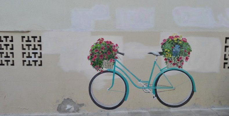 Τα γκράφιτι μιας γυναίκας άλλαξαν την εικόνα γειτονιάς στην Κρήτη