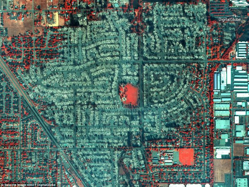 Perierga.gr - Εικόνες που δείχνουν σημαντικά γεγονότα του 2017 από δορυφόρο