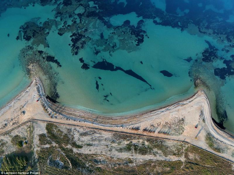 Αποκαλύφθηκαν τα μυστικά του αρχαίου λιμανιού της Κορίνθου