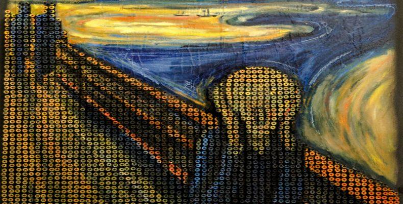 Perierga.gr-Γνωστά έργα τέχνης φτιαγμένα από βίδες