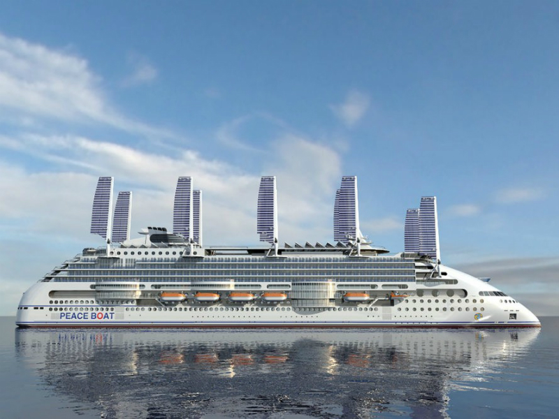 Perierga.gr - Το πιο οικολογικό κρουαζιερόπλοιο του κόσμου