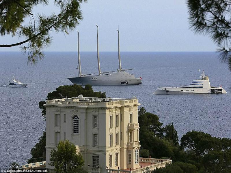 Perierga.gr-Στο εσωτερικό των πιο πολυτελών γιότ του 2017