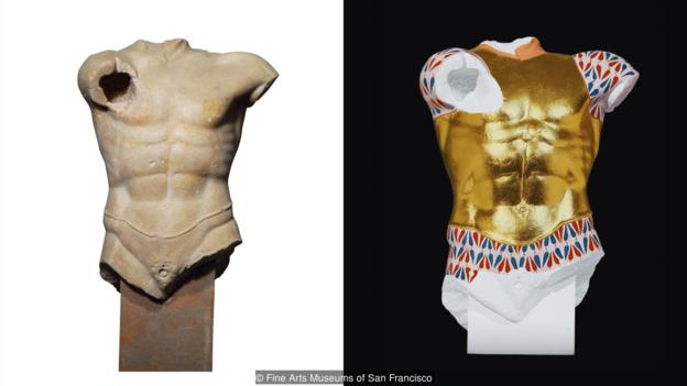 Perierga.gr - Διθύραμβοι BBC: Όταν ο Παρθενώνας είχε εκθαμβωτικά χρώματα