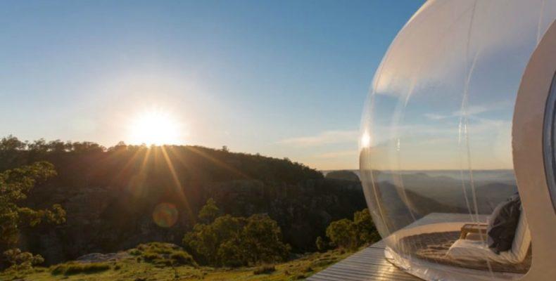 Perierga.gr - Διαφανή σκηνή-φυσαλίδα με θέα τα αστέρια