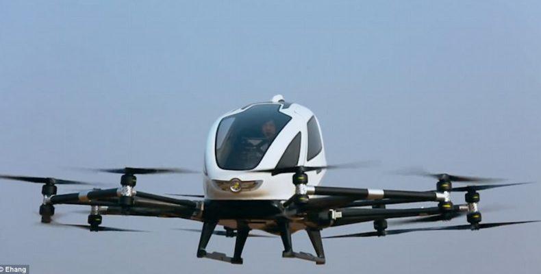 Πραγματοποιήθηκε η πρώτη πτήση drone με επιβάτες