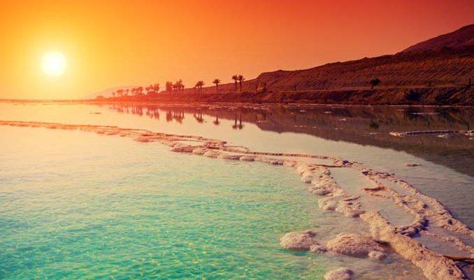 Εντυπωσιακές πληροφορίες για τη Νεκρά Θάλασσα