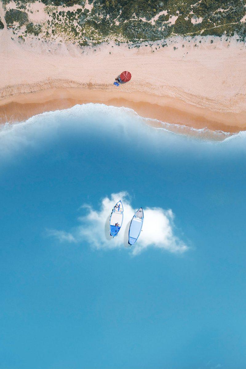 Perierga.gr - Μια θάλασσα από... σύννεφα!