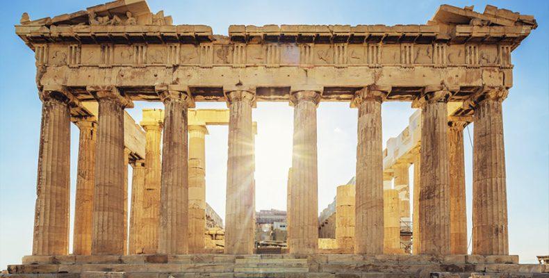 Gif με διάσημα ιστορικά κτίρια μας θυμίζουν τις παλιές τους δόξες