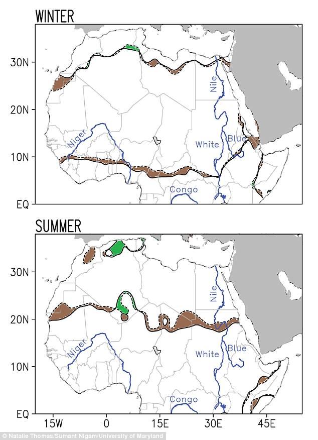 Perierga.gr - Σαχάρα: Η μεγαλύτερη έρημος του πλανήτη επεκτείνεται