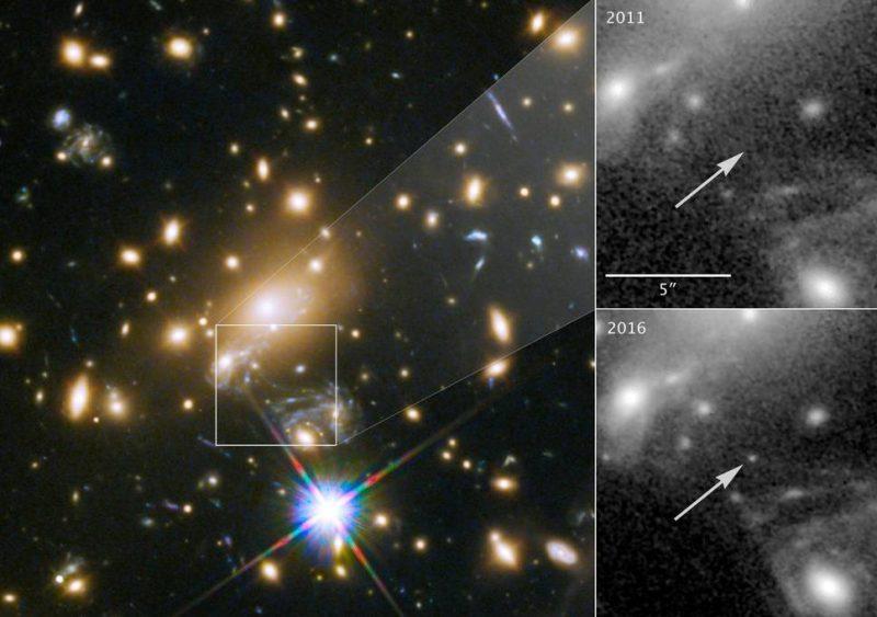 Perierga.gr - Ανακαλύφθηκε το πιο μακρινό αστέρι από τον πλανήτη μας