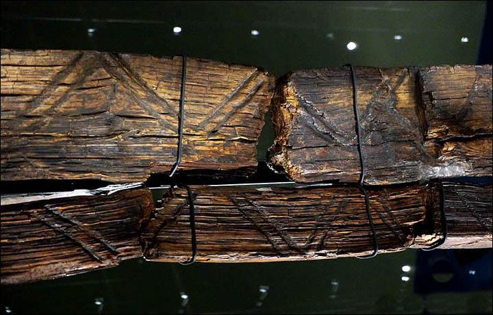 Perierga.gr - Το παλαιότερο ξύλινο άγαλμα είναι 11.600 χρόνων
