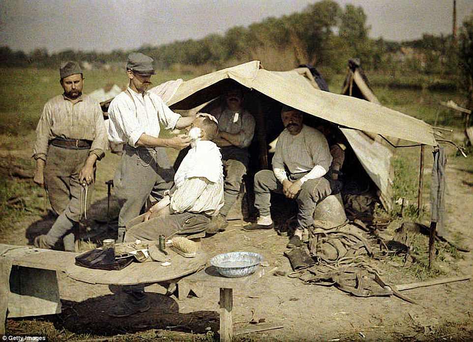 Perierga.gr - Σπάνιες έγχρωμες φωτογραφίες από τον Πρώτο Παγκόσμιο Πόλεμο