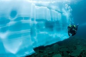 Τα παγόβουνα της λίμνης Sassolo