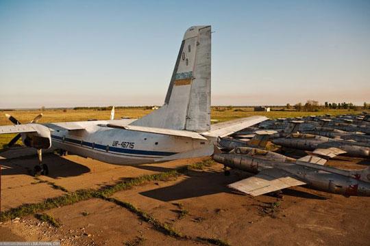 perierga.gr - Εγκαταλειμμένο αεροδρόμιο στην Ουκρανία