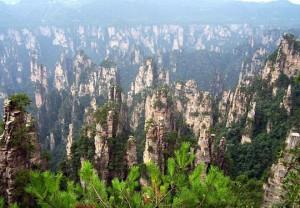 Οι απίστευτοι βράχοι του Wulingyuan