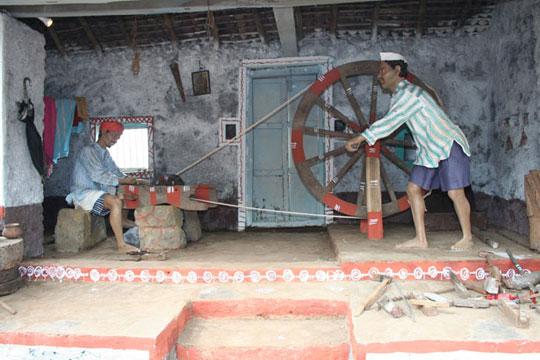 perierga.gr - Κέρινα αγάλματα στην Ινδία