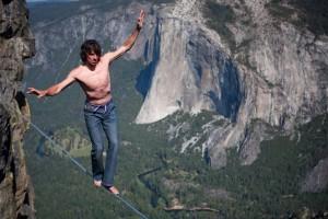 Σε τεντωμένο σκοινί στα 2700 μέτρα