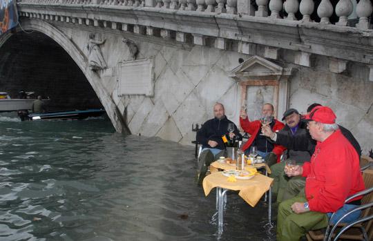 Οι πλημμύρες της Βενετίας