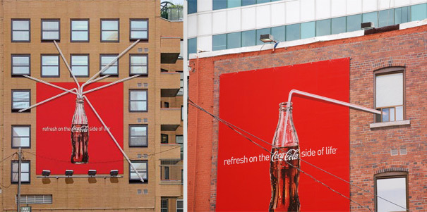 Perierga.gr - Διαφημίσεις σε κτήρια